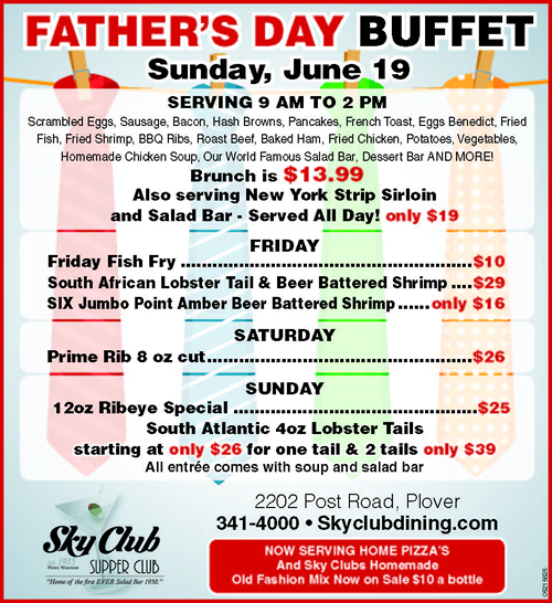Father's Day at Sky Club